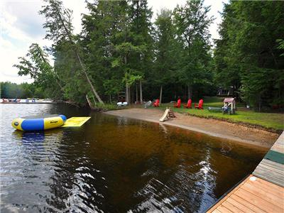Pelaw Lake Turtle Beach - part of the Redstone Lake Chain - Sand beach - Wifi - Satellite