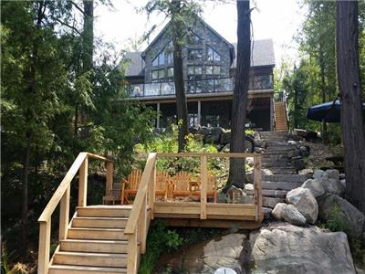 Luxury Parry Sound Waterfront Cottage