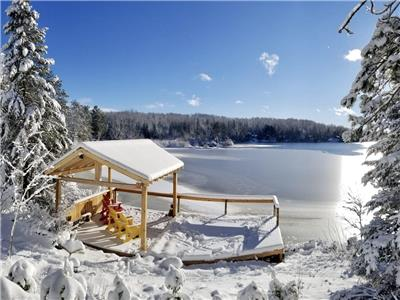 SERENDIPITY LODGE - 4 Season nr Algonquin, Lakefront, Wood-fire stoves, Best trails!