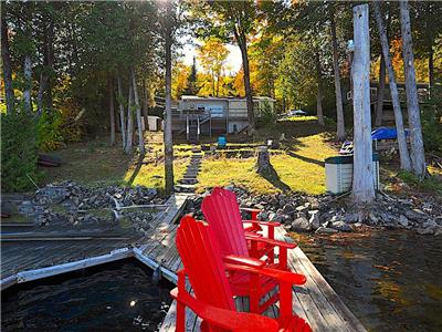 Chandos Lake Blue Heron -  Cottage familial confortable sur le lac Chandos