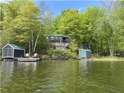 2 Separate Cottages on Big Clear Lake, Arden!