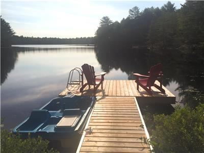 2020 FULLY BOOKED: Lodestar Lakehouse | Muskoka, Ontario Waterfront Cottage