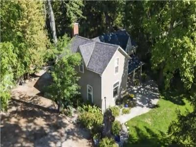 Beautiful, private, century home with in-ground pool and hot tub.  Minutes to beach and ski hill