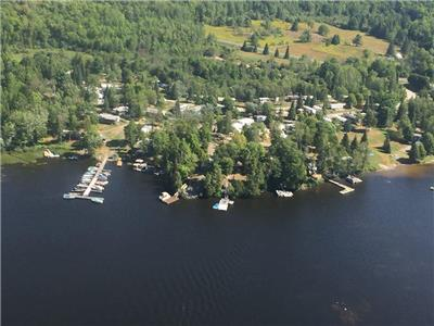 Cottage Country Living on renowned LAKE MANITOUWABING, in a Resort Cottage, move-in-ready
