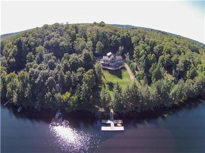 Calypso on Big Clear Lake with hot tub is available the summer of 2019